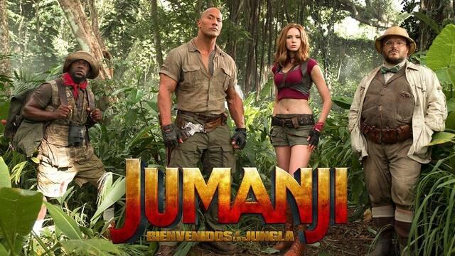 Sony quiere que la tercera parte de 'Jumanji' compita con 'Star Wars: Episodio IX'
