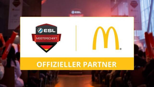 McDonalds se convierte en patrocinador de la ESL Meisterschaft alemana