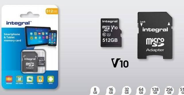 Crean la tarjeta MicroSD con más capacidad del mundo: 512 GB y compatible con Switch