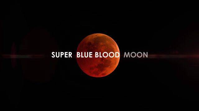 Superluna de sangre azul: os contamos todos los detalles