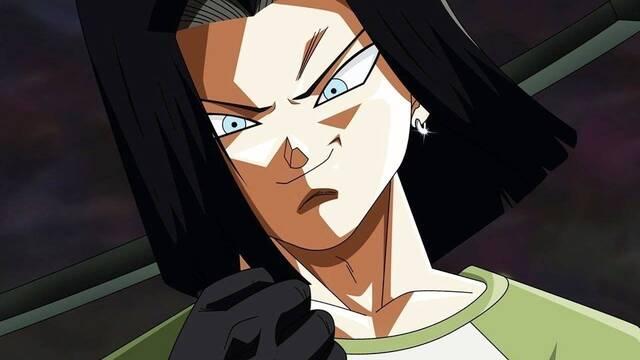 Androide 17 revoluciona a los fans en  'Dragon Ball Super'