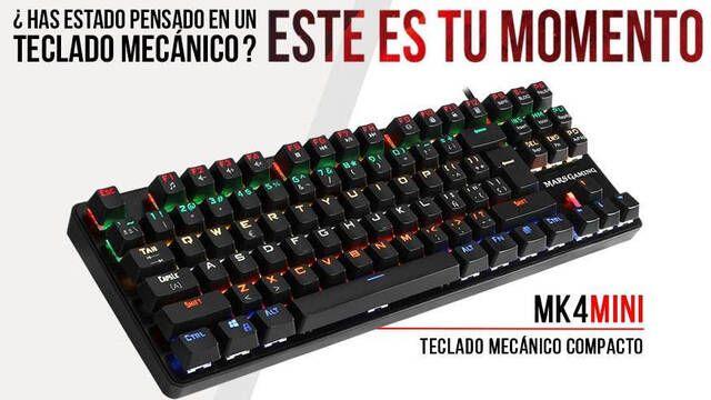 Mars Gaming presenta un nuevo teclado mecánico reducido