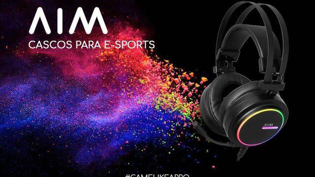 AIM presenta sus nuevos auriculares gaming