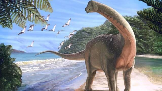 Descubierto en Egipto una nueva especie de dinosaurio