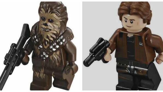 Las minifiguras LEGO de 'Solo' revelan detalles de la película