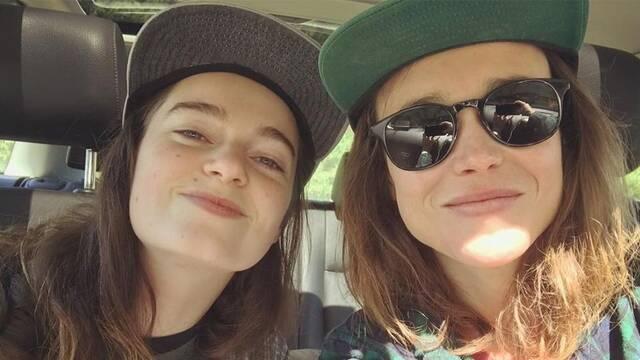Ellen Page y Emma Portner se dan el 'Sí, quiero'