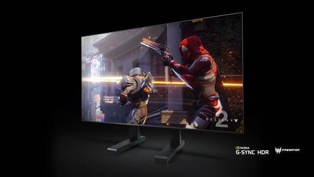 CES 2018: NVIDIA presenta una línea de monitores gigantes para jugadores