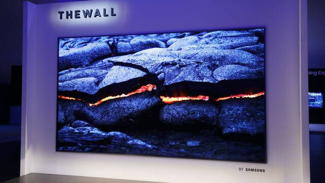 CES 2018: Samsung presenta The Wall, el primer televisor modular MicroLED de 146 pulgadas