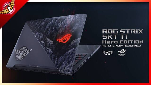 CES 2018: ASUS lanzará un portátil ROG Strix de SK Telecom T1 de 1700 dólares