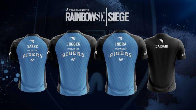 Movistar Riders presenta sus nuevos jugadores para Rainbow Six Siege