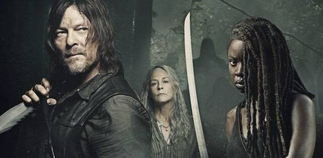 'The Walking Dead' presenta el póster de la temporada 9B