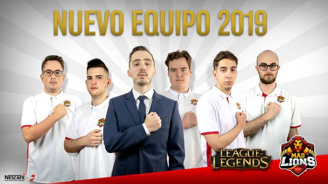 MAD Lions presenta su nuevo equipo de League of Legends