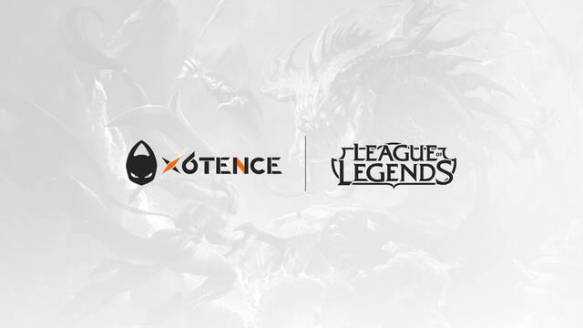 x6tence participará en la Superliga Orange de League of Legends
