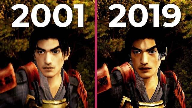 Comparativa gráfica: Onimusha Warlords 2001 VS. 2019