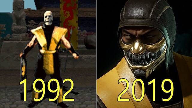 La evolución de Mortal Kombat de 1992 a 2019 con Mortal Kombat 11