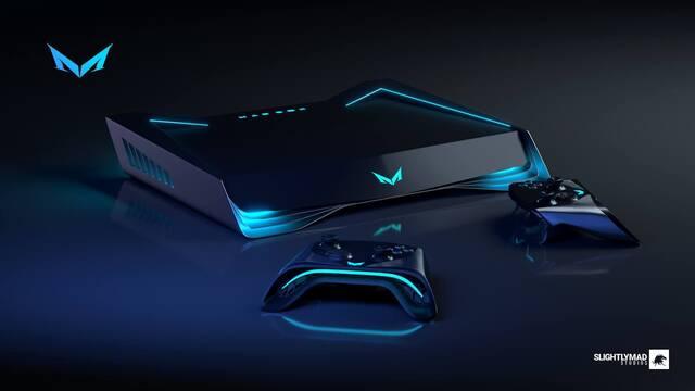 Así serán los mandos de Mad Box, la consola de los creadores de Project Cars