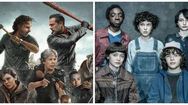 The Walking Dead y Stranger Things entre las series más demandadas de 2018