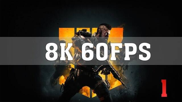 Así se ve Call of Duty Black Ops 4 a 8K con dos Titan RTX