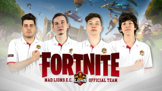 MAD Lions crea su equipo de Fortnite