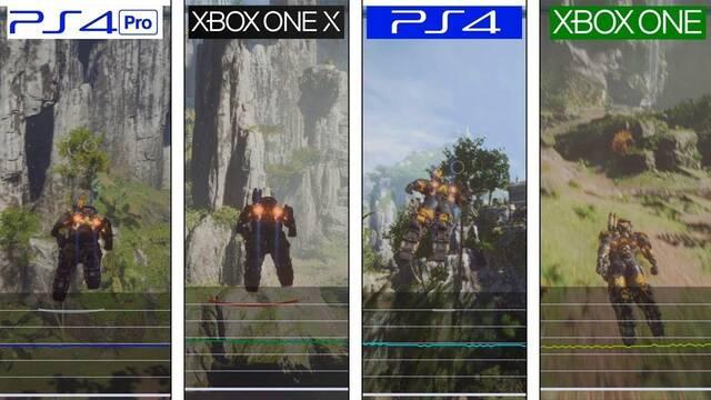 Así se ve Anthem en PS4, PS4 Pro, Xbox y Xbox One