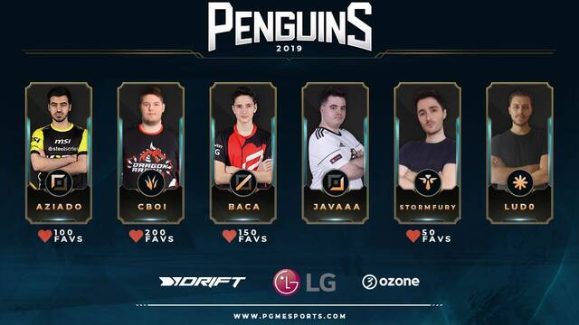 Penguins presenta su equipo de League of Legends para el 2019