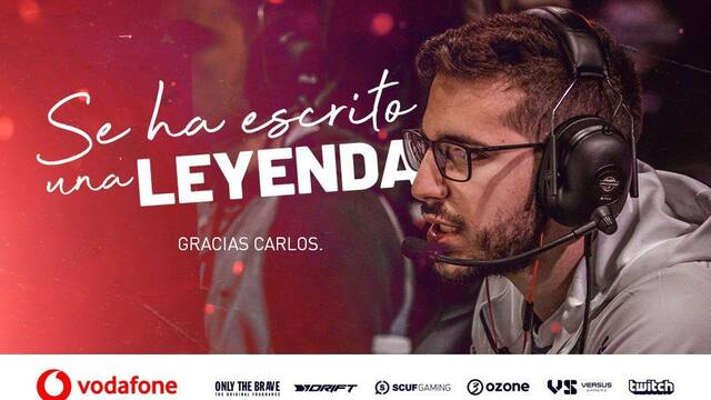 Lgend abandona el equipo de Call of Duty de Vodafone Giants