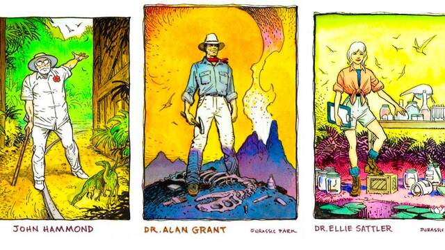 Los años 90: Cuando Jurassic Park casi se convierte en una serie de animación
