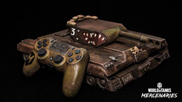 PS4 se convierte en tanque de World of Tanks con este mod