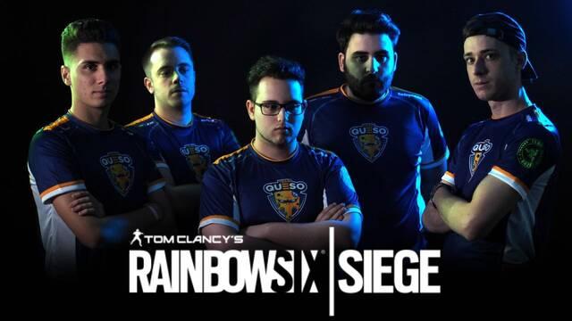 Team Queso apuesta por Rainbow Six Siege