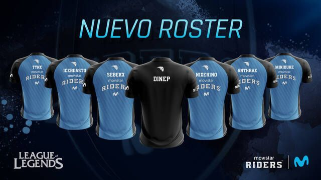 Movistar Riders presenta a su nuevo equipo de League of Legends