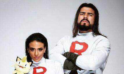 Zelina Vega y Andrade Almas de la WWE muestran sus cosplays del Team Rocket