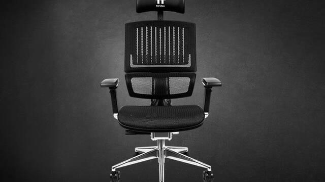 CES 2020: Thermaltake CyberChair E500, la silla gamer que renuncia al 'diseño racing'