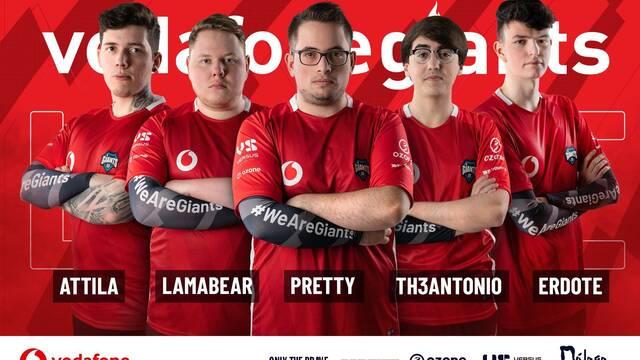 Vodafone Giants anuncia su equipo de League of Legends para la SLO