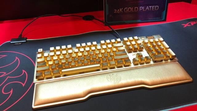 CES 2020: Así es el teclado para gamers chapado en oro que cuesta 10.000 dólares