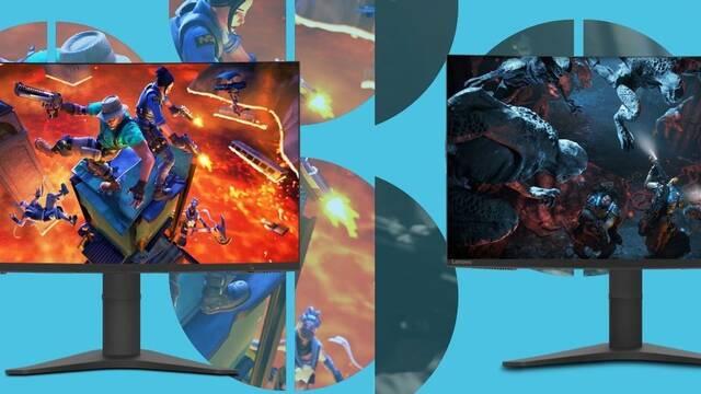 Lenovo presenta sus nuevos monitores para jugar, el G27c y el G32qc