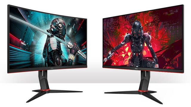 AOC presenta sus dos nuevos monitores para jugadores dentro de su línea G2