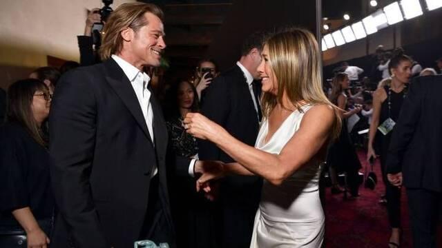 Brad Pitt y Jennifer Aniston: El reencuentro en los SAG Awards