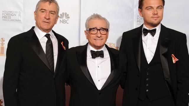 Leonardo DiCaprio y Rober De Niro estarán en la próxima de Scorsese