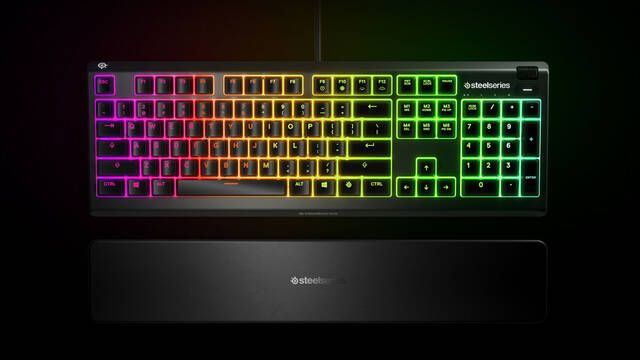 SteelSeries presenta un teclado para jugar resistente al agua por 80 euros