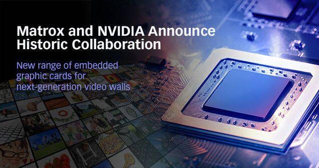 Matrox se alía con NVIDIA para desarrollar gráficas integradas
