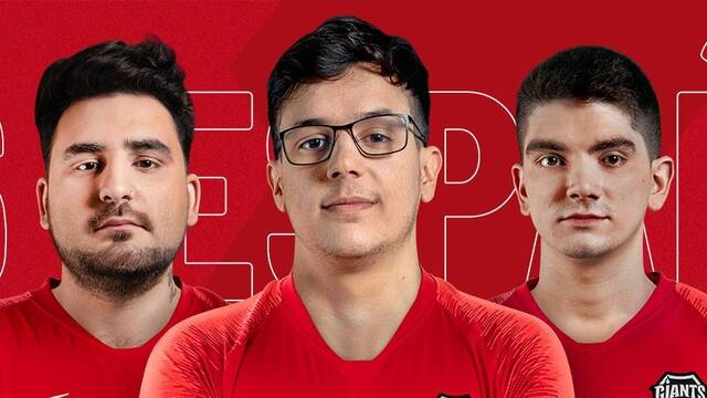 Vodafone Giants presenta su equipo español de Rainbow Six