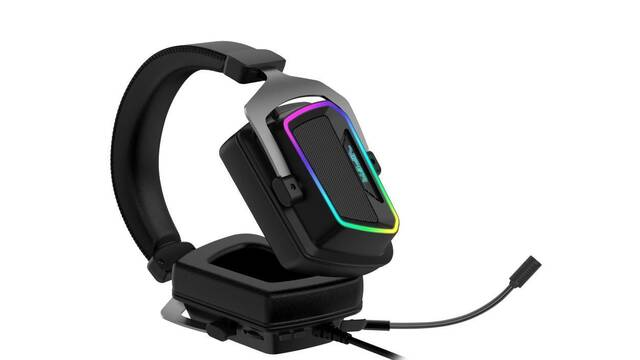 Patriot lanza sus auriculares para jugar Viper V380 Virtual 7.1 Sourround Sound