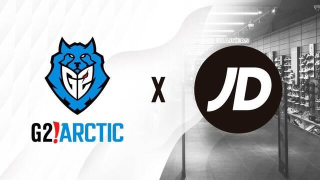 G2 Arctic tendrá como patrocinador a la marca británica JD Sports