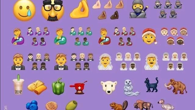 2020 verá nacer 177 emoji como el ninja, el pimiento u otros emoji más inclusivos