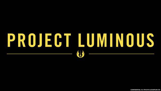 Star Wars Project Luminous: El anuncio no contendrá información de series o películas