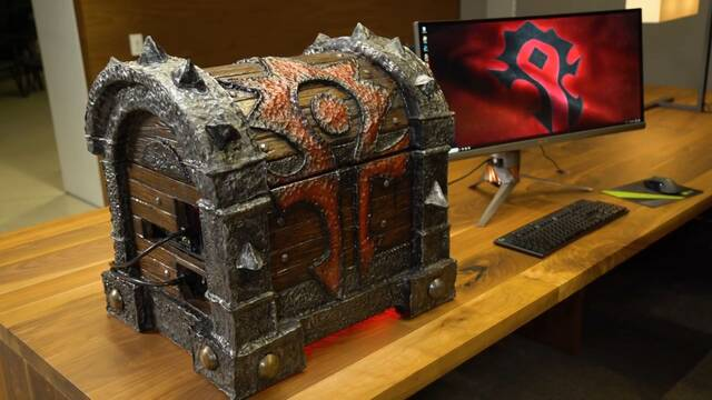 El PC Modding de los viernes: Un PC de Warcraft para el actor de Hodor en Juego de Tronos