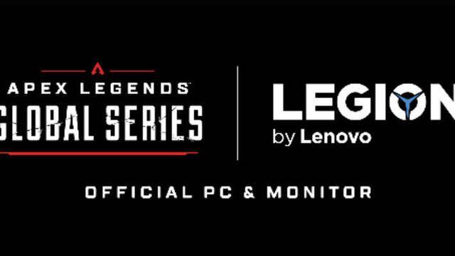 Lenovo será el patrocinador de ordenadores y monitores de la Apex Legends Global Series