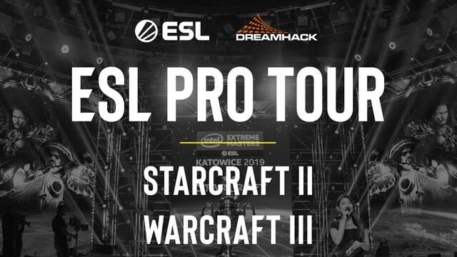 ESL y DreamHack cierran un acuerdo con Blizzard para Warcraft 3 Reforged y Starcraft 2