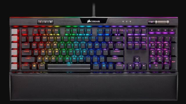 CES 2020: Corsair presenta su nuevo teclado mecánico K95 RGB Platinum XT