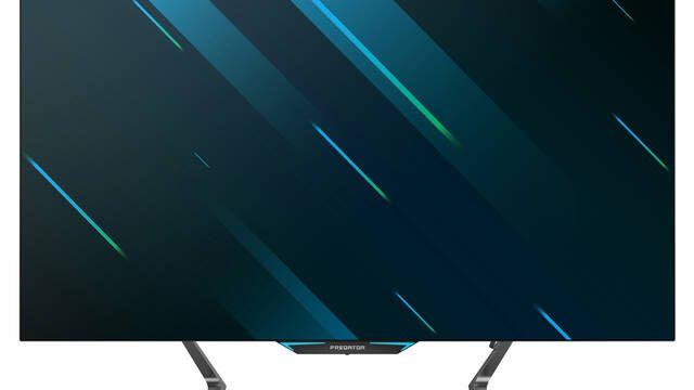 """CES 2020: Predator CG552K, el gigantesco monitor 4K de 55"""" para jugadores"""